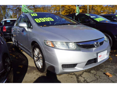 2010 Honda Civic for sale at M & R Auto Sales INC. in North Plainfield NJ