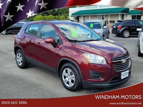 2016 Chevrolet Trax for sale at Windham Motors in Florence SC
