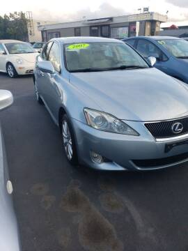 2007 Lexus IS 250 for sale at Thomas Auto Sales in Manteca CA