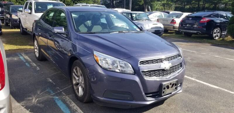 2013 Chevrolet Malibu for sale at Central Jersey Auto Trading in Jackson NJ