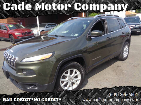 2014 Jeep Cherokee for sale at Cade Motor Company in Lawrence Township NJ