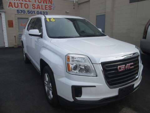 2016 GMC Terrain for sale at Small Town Auto Sales in Hazleton PA