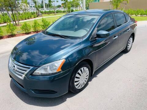 2013 Nissan Sentra for sale at LA Motors Miami in Miami FL
