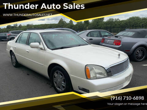 2003 Cadillac DeVille for sale at Thunder Auto Sales in Sacramento CA