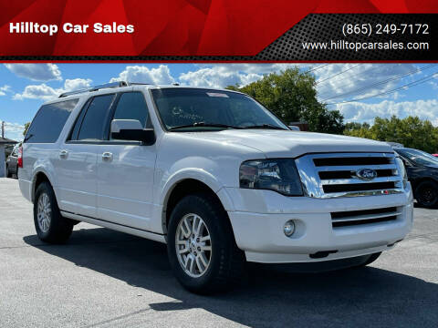 2013 Ford Expedition EL for sale at Hilltop Car Sales in Knoxville TN
