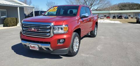 2015 GMC Canyon for sale at Jacks Auto Sales in Mountain Home AR
