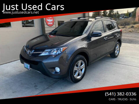 2015 Toyota RAV4 for sale at Just Used Cars in Bend OR