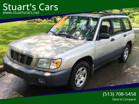 2001 Subaru Forester for sale at Stuart's Cars in Cincinnati OH