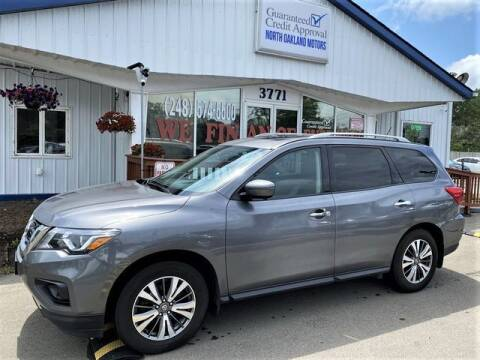 2017 Nissan Pathfinder for sale at North Oakland Motors in Waterford MI