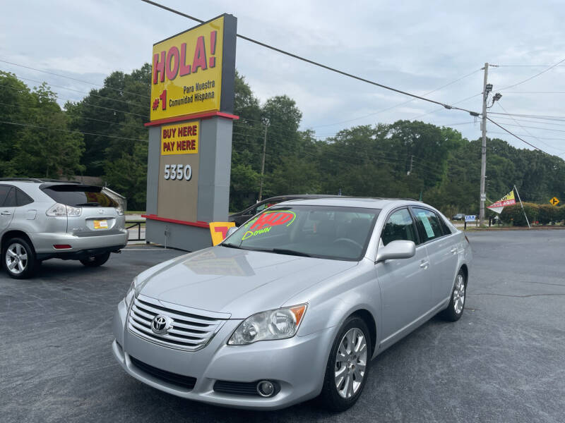 2008 Toyota Avalon for sale at No Full Coverage Auto Sales in Austell GA