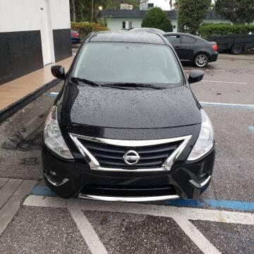 2018 Nissan Versa for sale at HCC AUTO SALES INC in Sarasota FL