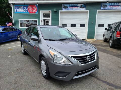 2016 Nissan Versa for sale at Bridge Auto Group Corp in Salem MA