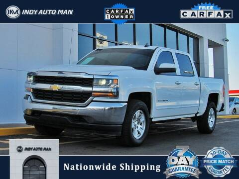 2018 Chevrolet Silverado 1500 for sale at INDY AUTO MAN in Indianapolis IN