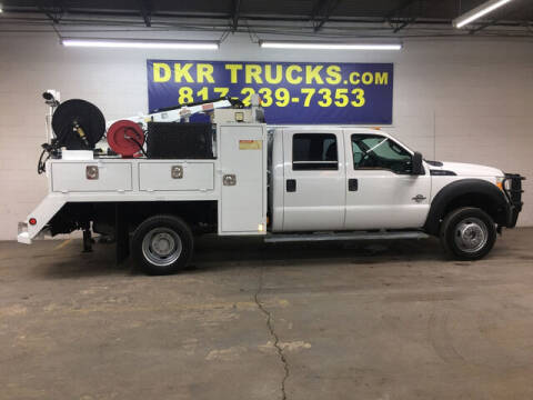 2012 Ford F-550 Super Duty for sale at DKR Trucks in Arlington TX