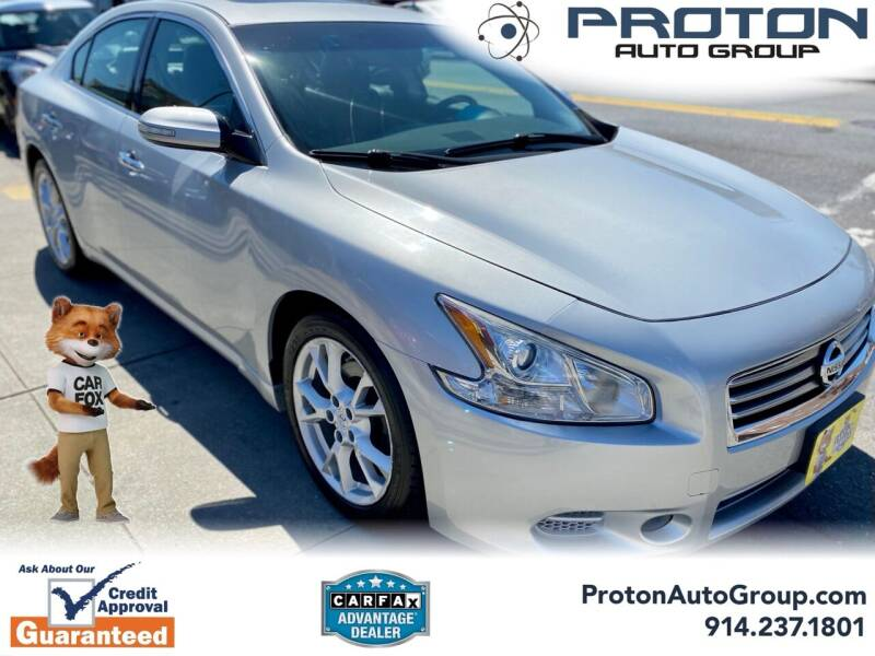 2014 Nissan Maxima for sale at Proton Auto Group in Yonkers NY