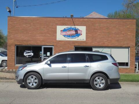 2014 Chevrolet Traverse for sale at Eyler Auto Center Inc. in Rushville IL