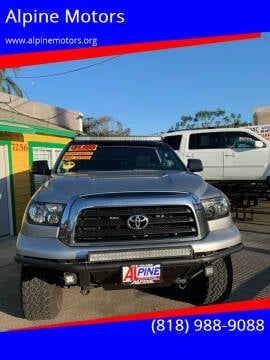 2008 Toyota Tundra for sale at Alpine Motors in Van Nuys CA