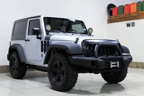 2008 Jeep Wrangler for sale at ROADSTERS AUTO in Houston TX