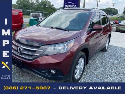 2012 Honda CR-V for sale at Impex Auto Sales in Greensboro NC