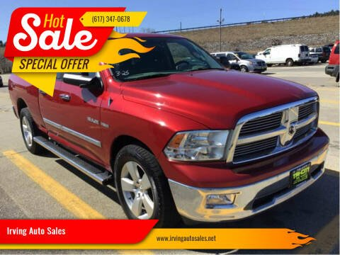 2010 Dodge Ram Pickup 1500 for sale at Irving Auto Sales in Whitman MA