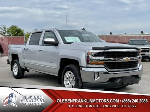 2017 Chevrolet Silverado 1500 for sale at Ole Ben Franklin Motors Clinton Highway in Knoxville TN