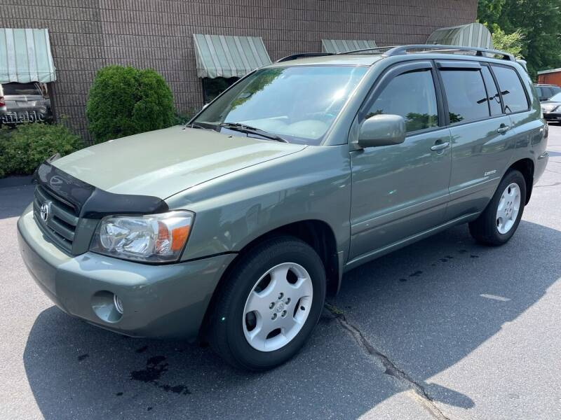 2007 Toyota Highlander for sale at Depot Auto Sales Inc in Palmer MA