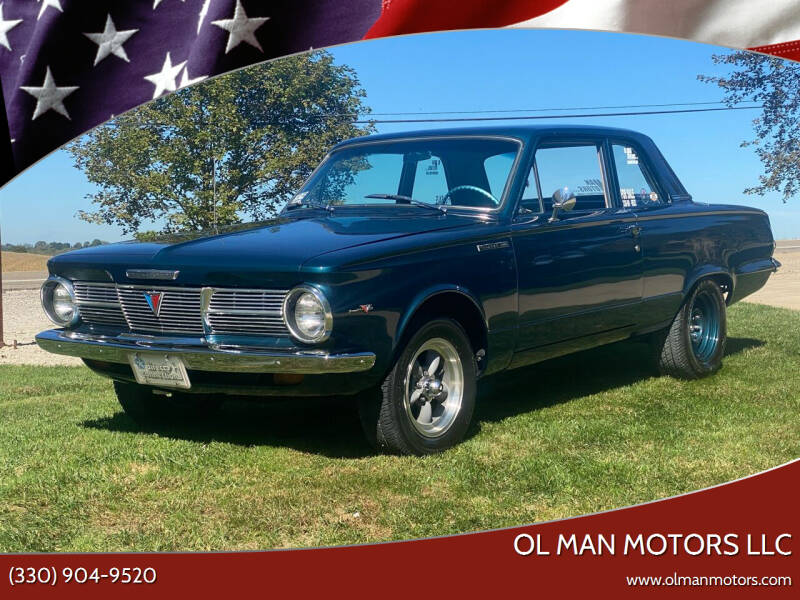 1965 Plymouth Valiant for sale at Ol Man Motors LLC in Louisville OH