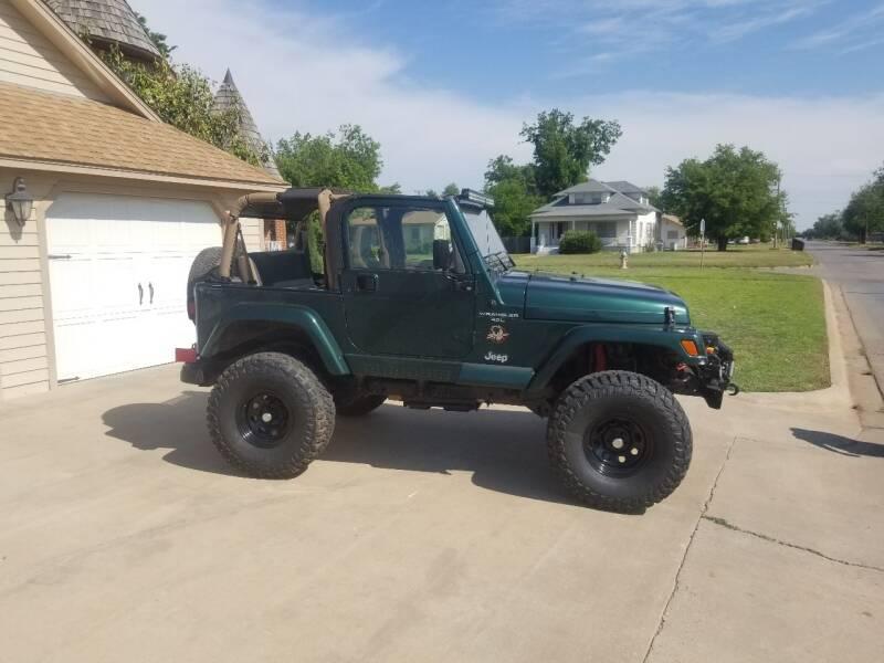 1999 Jeep Wrangler for sale at Eastern Motors in Altus OK