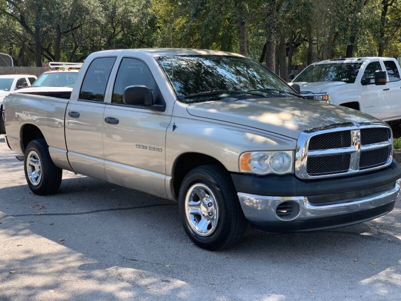 2003 Dodge Ram Pickup 1500 for sale at AWESOME CARS LLC in Austin TX