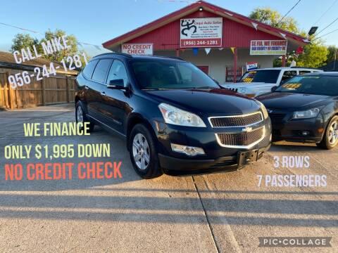 2010 Chevrolet Traverse for sale at Coqui Auto Sales in La Feria TX