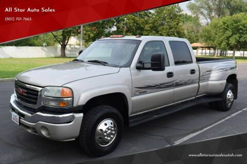 2005 GMC Sierra 3500 for sale at All Star Auto Sales in Pleasant Grove UT