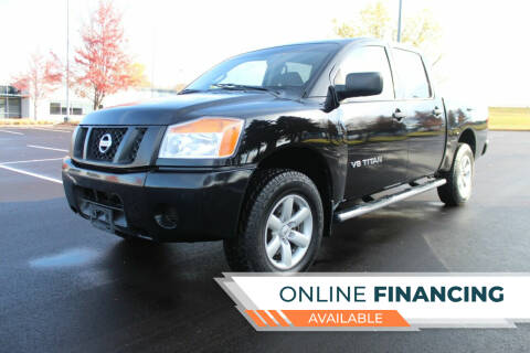 2014 Nissan Titan for sale at K & L Auto Sales in Saint Paul MN