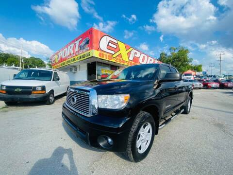 2011 Toyota Tundra for sale at EXPORT AUTO SALES, INC. in Nashville TN