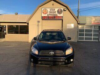2007 Toyota RAV4 for sale at Utah Credit Approval Auto Sales in Murray UT