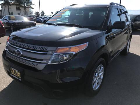 2013 Ford Explorer for sale at Soledad Auto Sales in Soledad CA