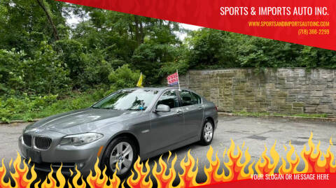 2011 BMW 5 Series for sale at Sports & Imports Auto Inc. in Brooklyn NY