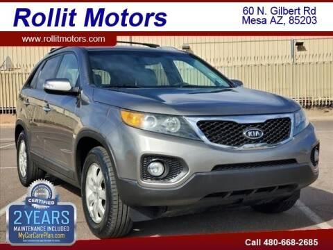 2012 Kia Sorento for sale at Rollit Motors in Mesa AZ