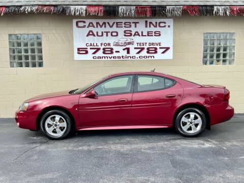 2006 Pontiac Grand Prix for sale at Camvest Inc. Auto Sales in Depew NY