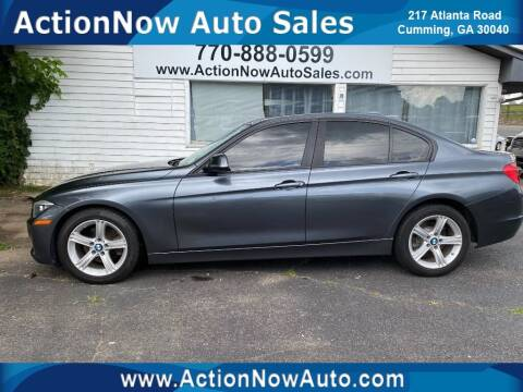 2014 BMW 3 Series for sale at ACTION NOW AUTO SALES in Cumming GA