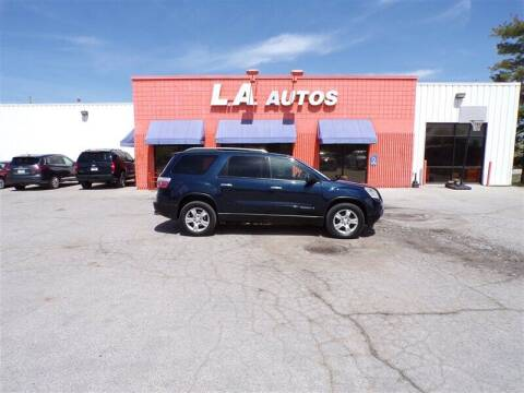 2007 GMC Acadia for sale at L A AUTOS in Omaha NE
