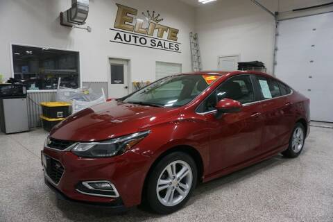 2017 Chevrolet Cruze for sale at Elite Auto Sales in Ammon ID