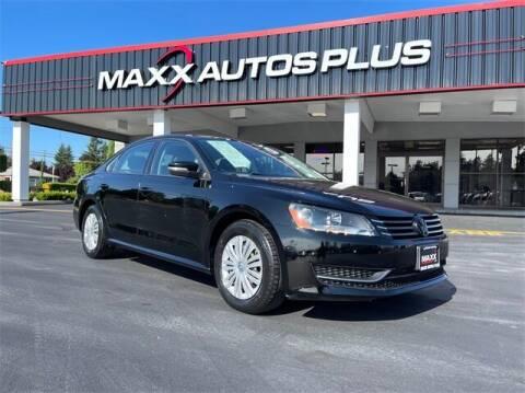 2014 Volkswagen Passat for sale at Maxx Autos Plus in Puyallup WA