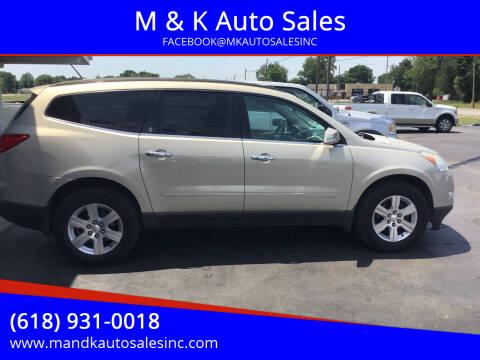 2012 Chevrolet Traverse for sale at M & K Auto Sales in Granite City IL