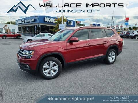2018 Volkswagen Atlas for sale at WALLACE IMPORTS OF JOHNSON CITY in Johnson City TN