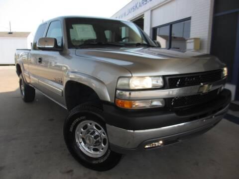 2002 Chevrolet Silverado 2500HD for sale at Jays Kars in Bryan TX