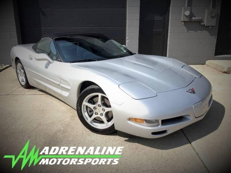 2000 Chevrolet Corvette for sale at Adrenaline Motorsports Inc. in Saginaw MI