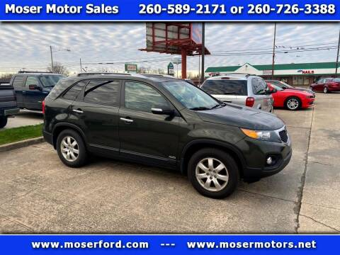 2013 Kia Sorento for sale at Moser Motors Of Portland in Portland IN
