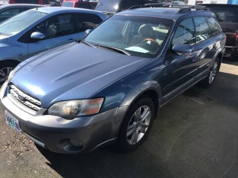 2005 Subaru Outback for sale at Chuck Wise Motors in Portland OR