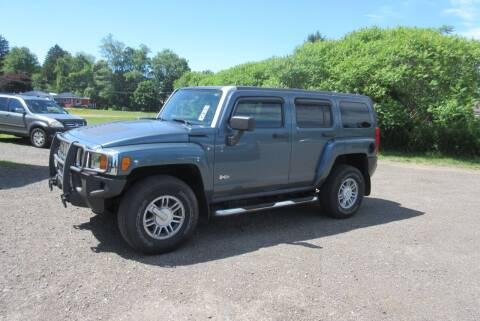 2007 HUMMER H3 for sale at Clearwater Motor Car in Jamestown NY