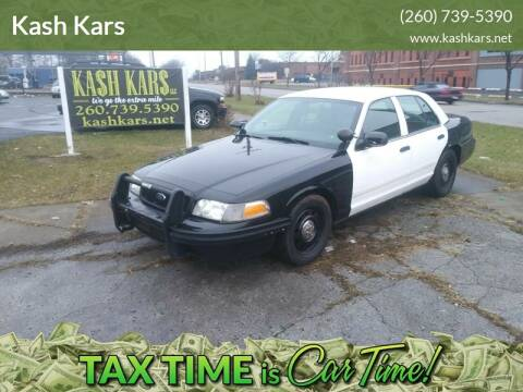 2009 Ford Crown Victoria for sale at Kash Kars in Fort Wayne IN